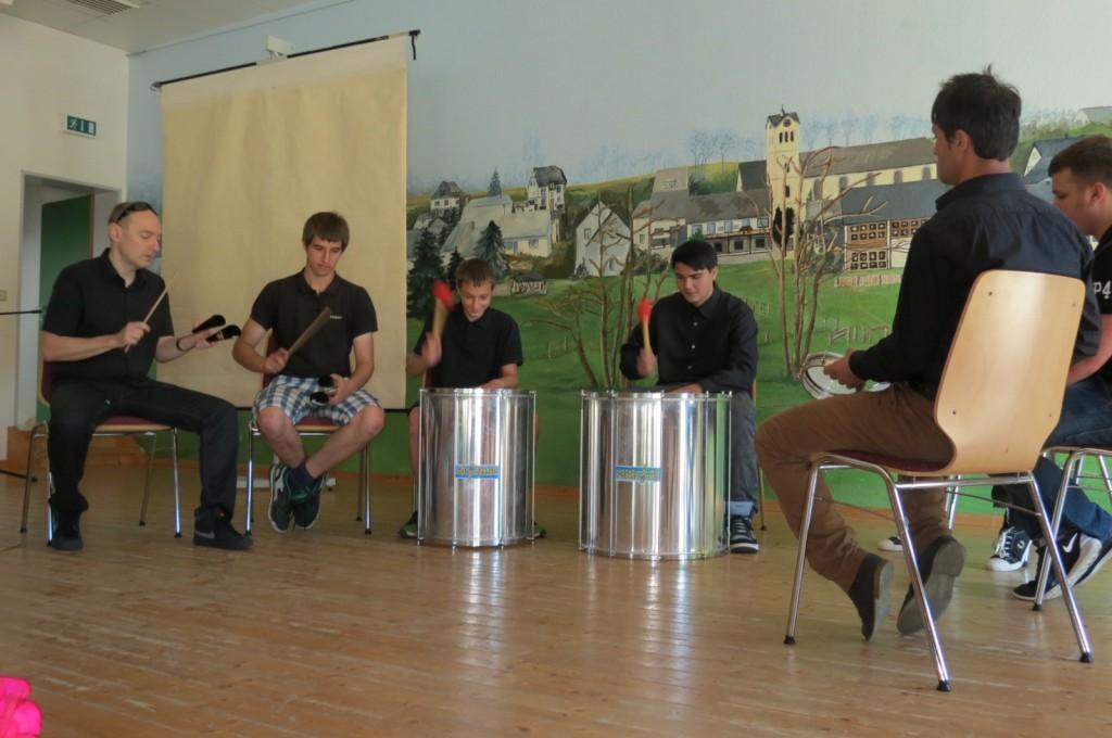 Trommel-Workshop der KoA