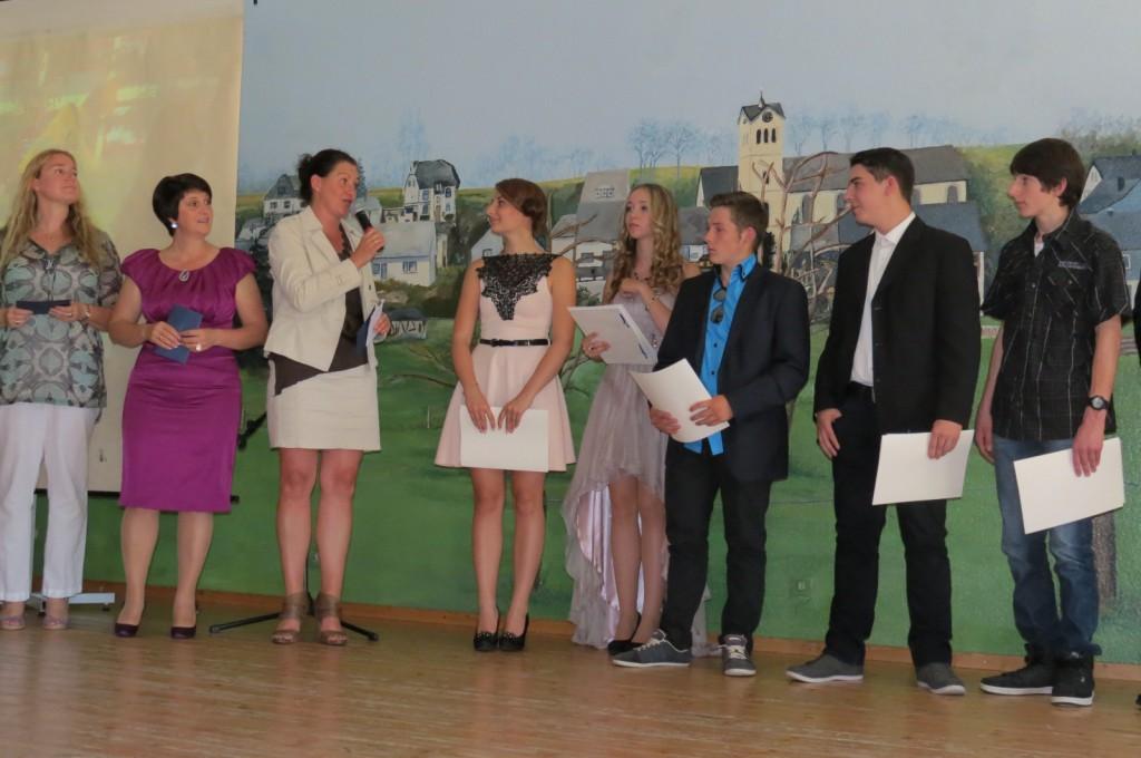 Die Absolventen der LG 9