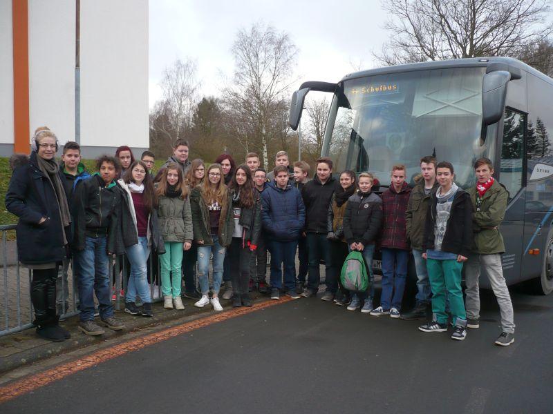 Das sind die neuen Schulbusbegleiter der Paul-Schneider-Schule.