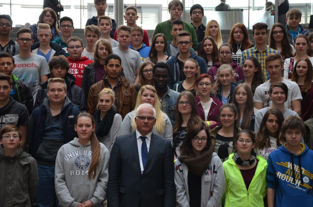 Lerngruppe 9 besucht Perter Bleser MdB im Deutschen Bundestag in Berlin
