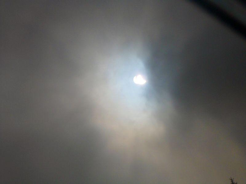partielle Sonnenfinsternis 20. 3. 2015 in Sohren