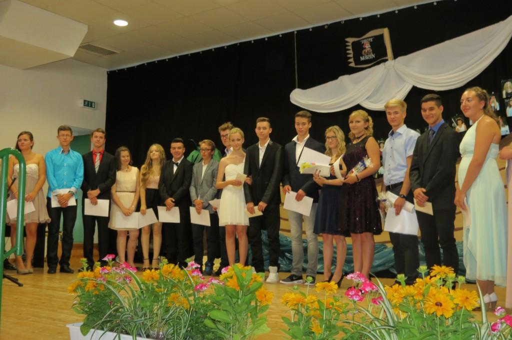 Die Auszeichnung der Schülerasisstenten der LG 10