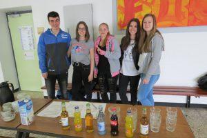 Bewirtung mit Getränken durch unsere 10er